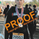 Marine Corps marathon finisher