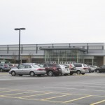 CYO indoor track meet facility from outside