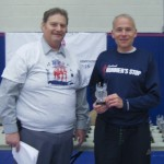 jan holds ahepa suffolk half trophy