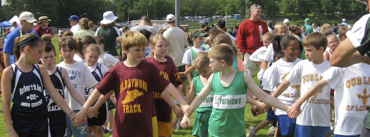 holy family track meet