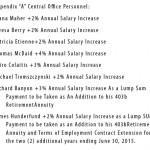 2012 administrative salary increases