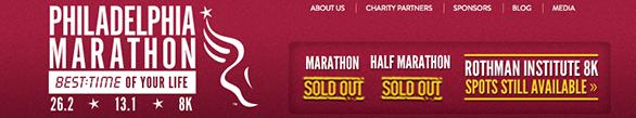 philadelphia marathon site