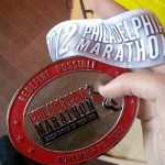 philly marathon medal