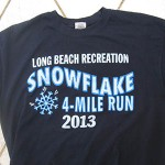 Long Beach Snowflake T-shirt