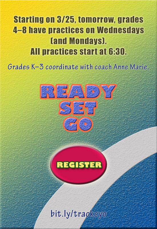 2015 cyo practice schedule