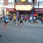 jan waving from chicago marathon