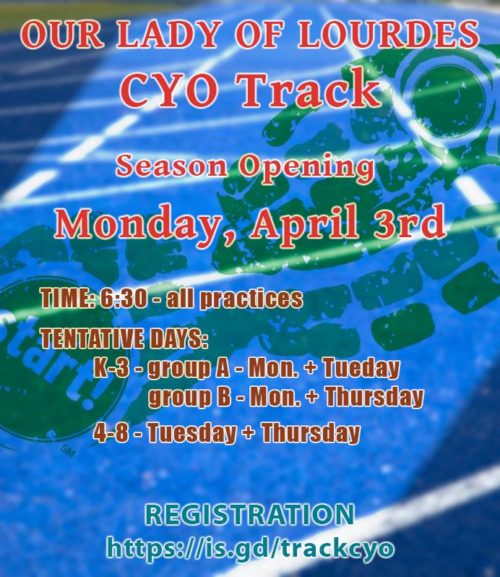 invitation to register for OLL CYO track